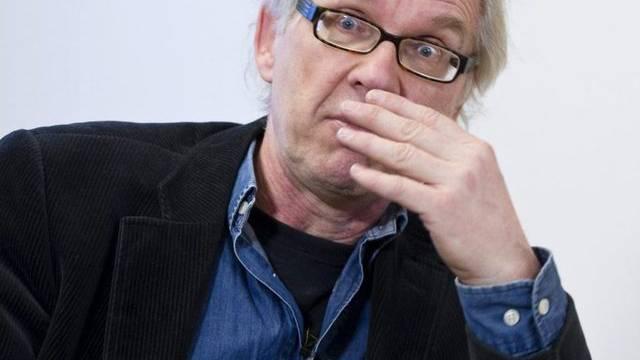 Der schwedische Karikaturist Lars Vilks