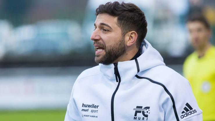 Muri-Coach Pascariello will sich mit seiner Equipe nach vorne orientieren.
