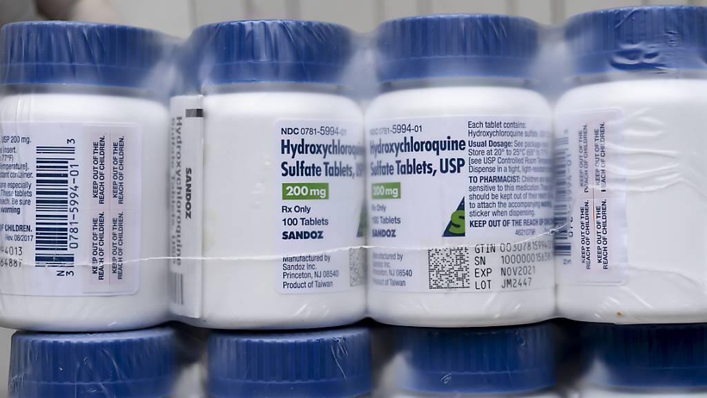 Studie: Hydroxychloroquin schützt nicht vor CoV-2-Ansteckung