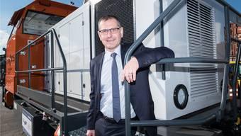 Der rapide wirtschaftliche Umbruch – von der Digitalisierung bis zur Deindustrialisierung der Schweiz – erfordere Flexibilität, sagt Utra-Brag-CEO Thomas Knopf. Deshalb steht er der Investition in das Gross-Terminal Basel Nord skeptisch gegenüber.