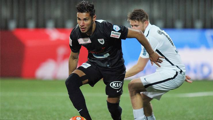 Miguel Peralta bleibt beim FC Aarau.