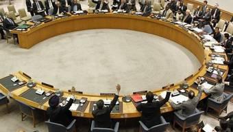 Der Sicherheitsrat hat die sofortige Freilassung der UNO-Beobachter verlangt (Archiv)
