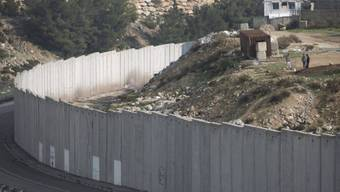 Israelische Sperranlage bei Jerusalem