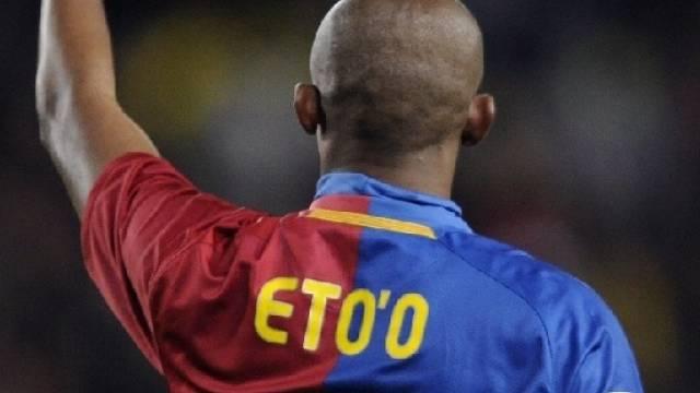 Eto\'o rette Barça einen Punkt
