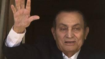 Der ehemalige ägyptische Präsident Hosni Mubarak wurde freigesprochen. (Archiv)