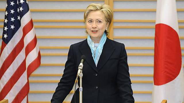 Hillary Clinton in Tokio