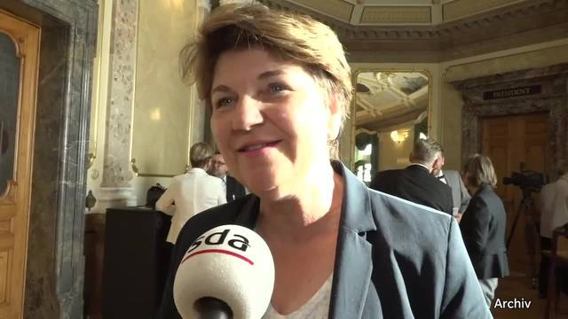 Walliser CVP-Nationalrätin Viola Amherd steigt ins Rennen