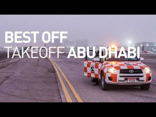 Die Solar Impulse 2 hebt ab: Die besten Bilder des Starts in Abu Dhabi.