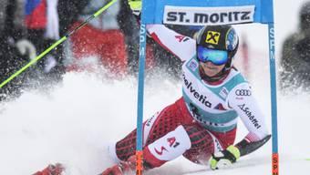Katharina Gallhuber stürzte im Slalomtraining und fällte die ganze Saison aus