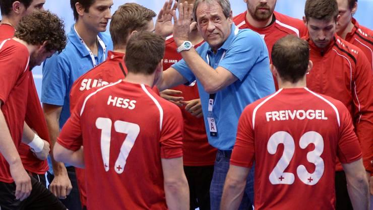 Das Schweizer Handball-Nationalteam bekommt einen neuen Trainer