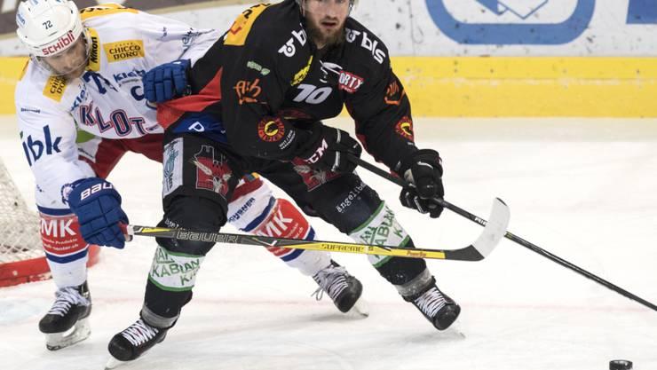 Tristan Scherwey beendete gegen den EHC Kloten seine 19 Spiele andauernde Torflaute