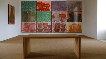 Diese «Gefässwand ist das auffallendste Werk von Roland Adatte.