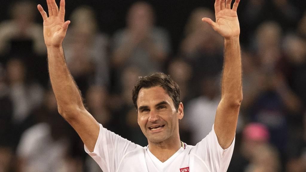 Nach Knie-OP: Federer kann derzeit zwei Stunden trainieren