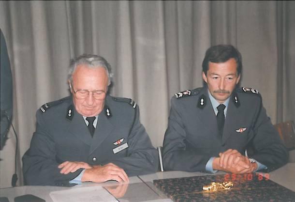 Mit Vor-Vorgänger Willi Hug