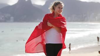 Doppel-Europameisterin Giulia Steingruber freut sich auf die Kunstturn-Wettkämpfe an den Olympischen Spielen in Rio de Janeiro