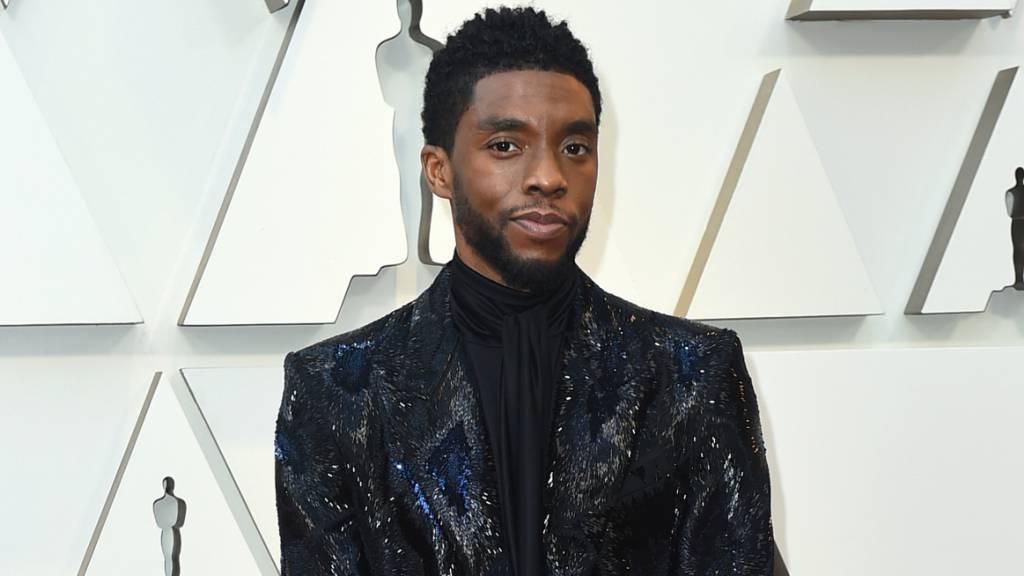 ARCHIV - Rund drei Monate nach seinem Tod ist der «Black Panther»-Star Chadwick Boseman mit einem Preis geehrt worden. Foto: Jordan Strauss/Invision/AP/dpa