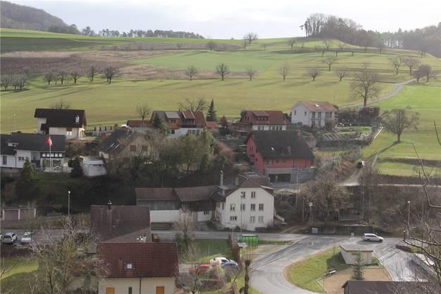 Elfingen, 4. Januar: Ende März 2019 macht das Gästehaus «Wyler's Bed & Breakfast» dicht. Es befindet sich im roten Haus am Dorfrand.