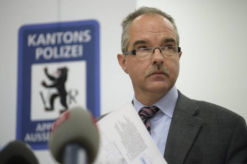 Reto Cavelti, Kommandant der Kantonspolizei Appenzell Ausserrhoden, blickt auf die Geschehnisse vom 3. Januar 2017 in Rehetobel zurück. (Archivbild)