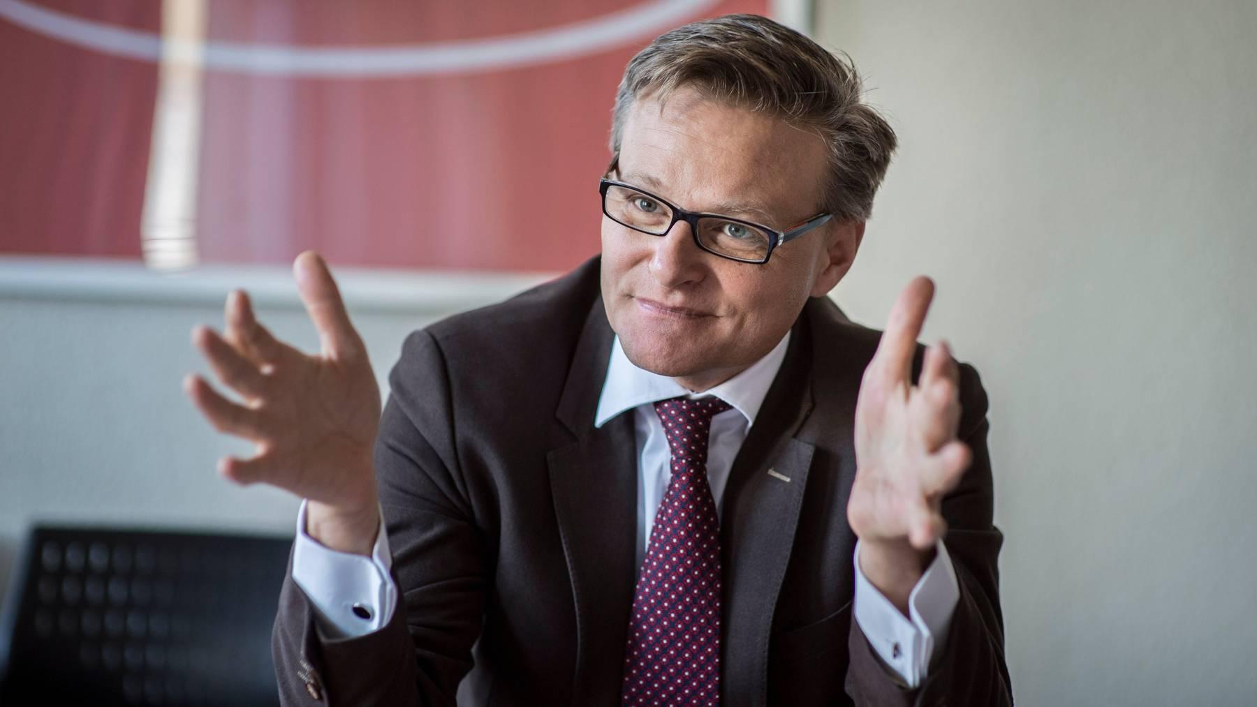 Präsidiert neu die Interessengemeinschaft des Detailhandels: Denner-CEO Mario Irminger.