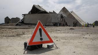 Erfolg für die Wirtschaftsförderung: Sprengungen im Attisholz-Areal schufen 2015 Platz für den Biogen-Konzern.