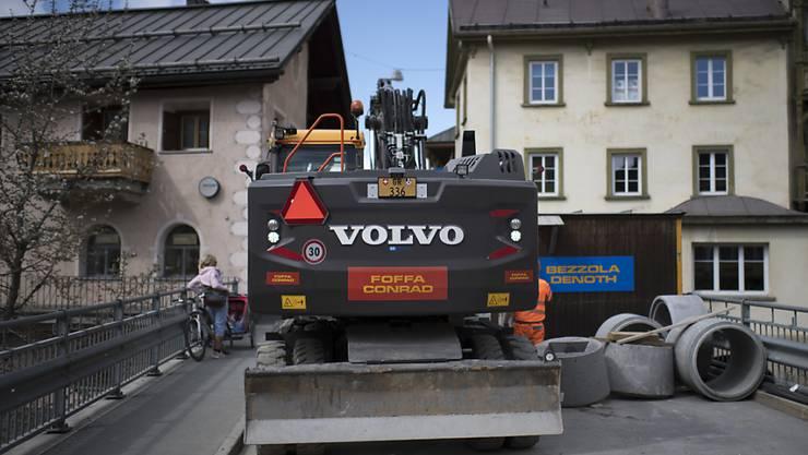 Die Foffa Conrad AG zieht vor das Bundesverwaltungsgericht. Das Bauunternehmen wehrt sich gegen die millionenschwere Weko-Busse für die Zugehörigkeit zum Unterengadiner Baukartell.
