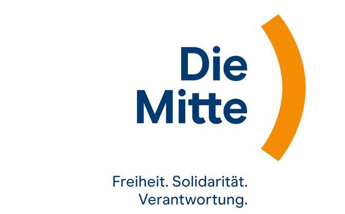 Das neue Logo der neuen Partei «Die Mitte».