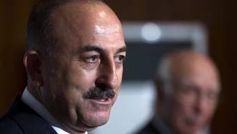 """Der türkische Aussenminister Cavusoglu fragt sich, ob die Kritik an seinem Land aus Europa einer """"Türkei-Feindlichkeit"""" entspringt. (Archivbild)"""