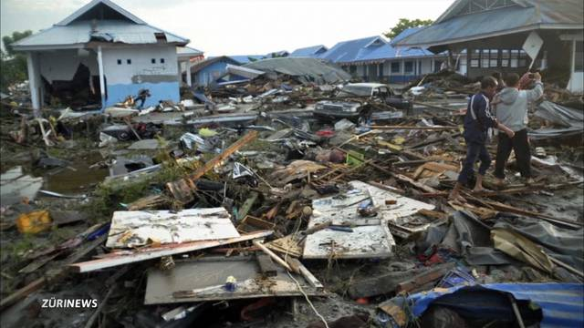 380 Tote nach Tsunami in Indonesien