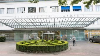 Die durchschnittlichen Pflegekosten in Aargauer Kliniken sind 2018 gesunken (im Bild: Kantonsspital Aarau)