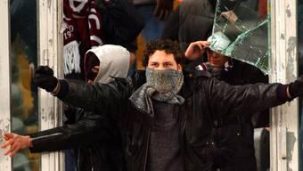 Die Massnahmen gegen Hooligans sollen verschärft werden