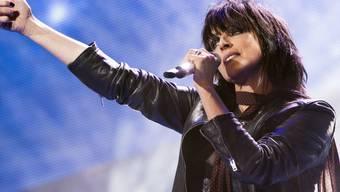 Die deutsche Sängerin Nena 2016 am Energy Air in Bern. (Archiv)