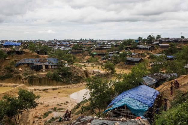 Das Kutupalong Flüchtlingslager in Bangladesch. Hier leben über 200'000 Rohingya.