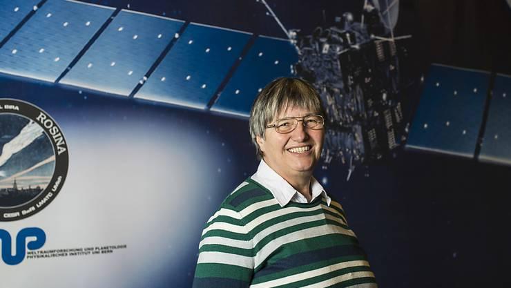 Professorin und Astrophysikerin Kathrin Altwegg von der Universität Bern ist am Freitag beim Rosetta-Finale dabei. (Archivbild)