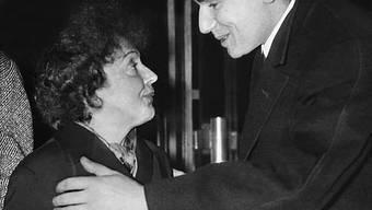Edith Piaf und Robert Hossein (1961)