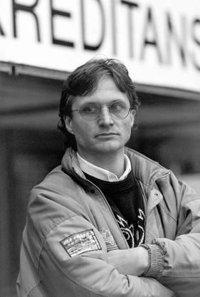Arno Del Curto 1991 als frischgebackener Trainer des ZSC.