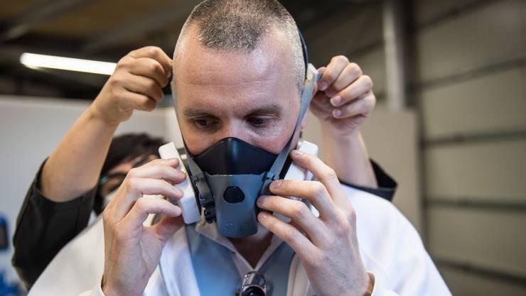 Mangelware: Neu unterstellt der Bundesrat den Export von Schutzmasken einer Bewilligungspflicht.