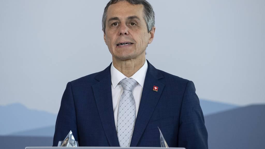 Bundesrat Ignazio Cassis wirbt in 1. August-Rede für ein Nein zur Begrenzungsinitiative