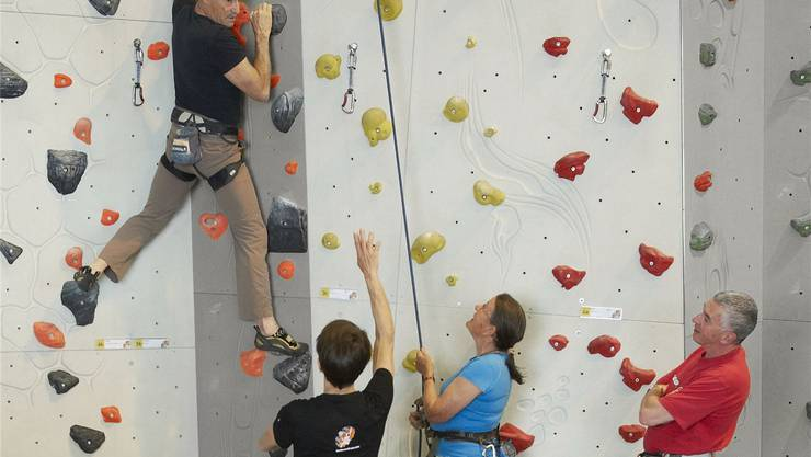 Es hat sich gezeigt, dass der Klettersport auch im hohen Alter noch problemlos ausgeübt werden kann.