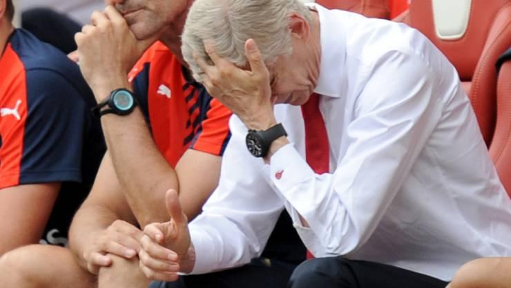 Arsène Wenger hat schon glücklicher aus der Wäsche geguckt.