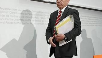 Bundesrat Maurer findet, die Planung sei intransparent gewesen