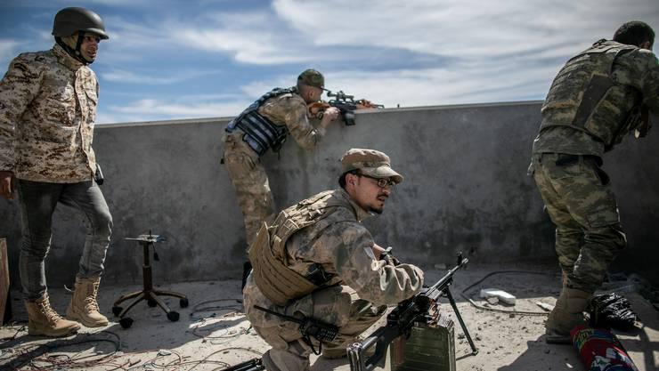 Chaos herrscht im Bürgerkriegsland Libyen – nicht erst, seit die Geheimoperation «Projekt Opus» aufgeflogen ist.