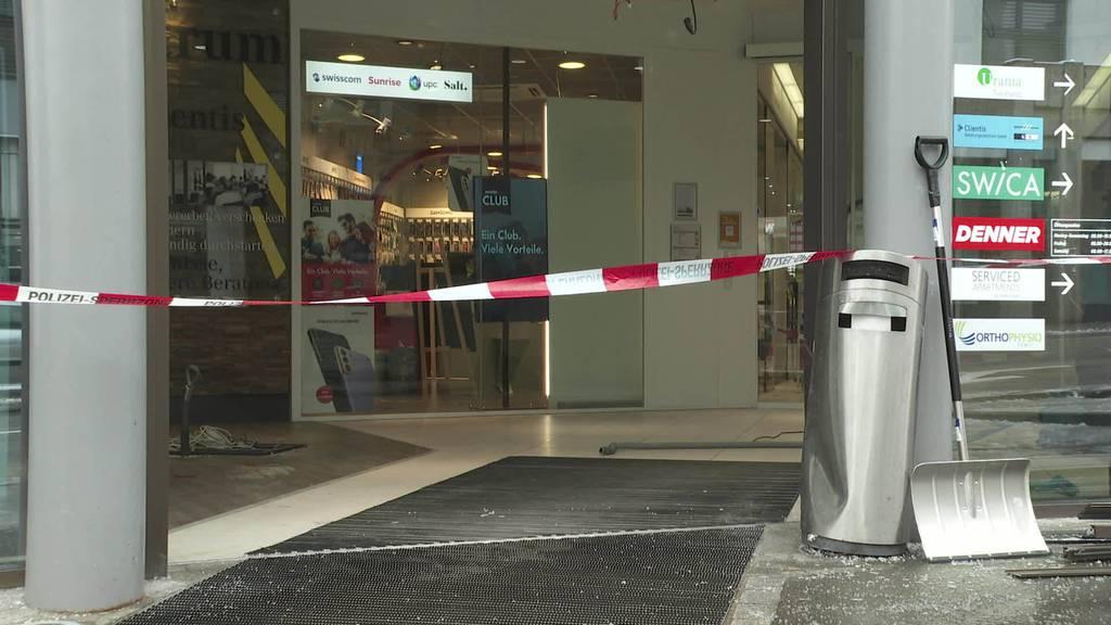 Rammbock-Raub: Uzwiler Bancomat hält Dieben stand