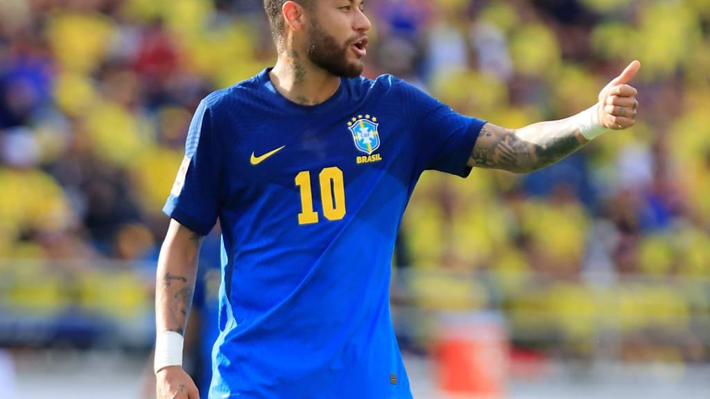 Auch der nach einer Sperre zurückgekehrte Neymar konnte Brasilien nicht zum Sieg verhelfen