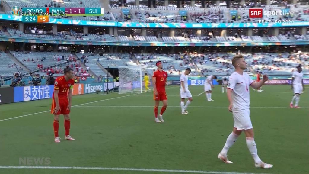 Enttäuschendes Resultat: Schweiz spielt gegen Wales 1:1 unentschieden
