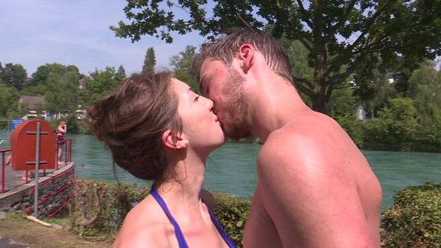 So küsst Bern
