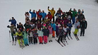 Freude, Schnee,  und Freunde – Was will man mehr?
