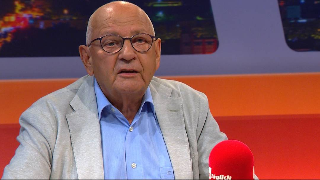 """""""Talk Täglich"""" von Tele M1 mit Fredy Hiestand (August 2017)"""