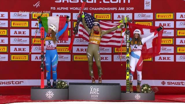 Ski-WM: Corinne Suter holt Bronze im Super-G