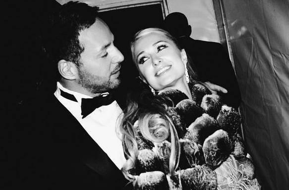 Paris Hilton mit ihrem Freund Thomas Gross.