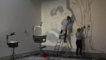 """Das Kunstmuseum in La Chaux-de-Fonds widmet den Künstlerinnen Claudia & Julia Müller die Ausstellung """"Der weiche Blick"""". Die Schau dauert vom 29. Juni bis 29. September 2019."""